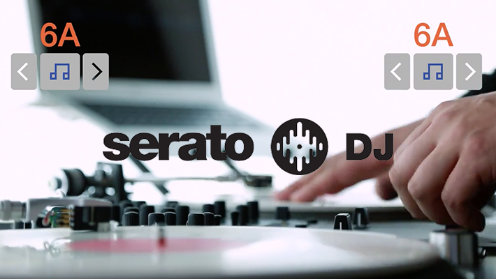 Serato DJ 1.8 – Key shifting & Key Sync Demo