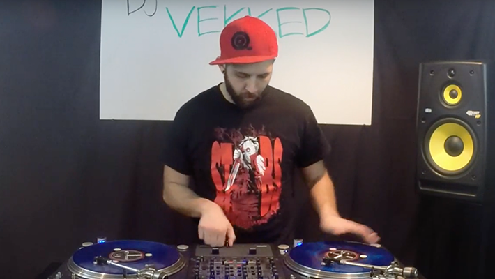 Vekked: Beat Juggle Tribute to Classic Hip-Hop