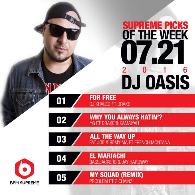 Supreme Picks of the week_7-21-2016