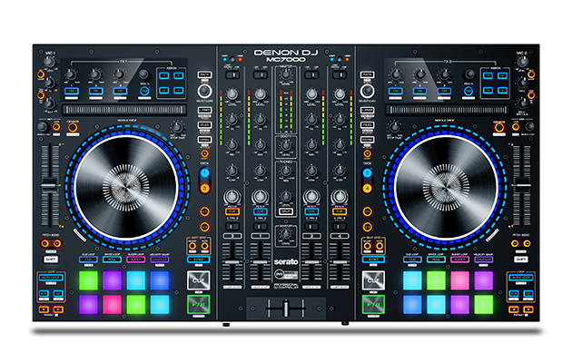 denon dj mc7000 introduced at dj expo