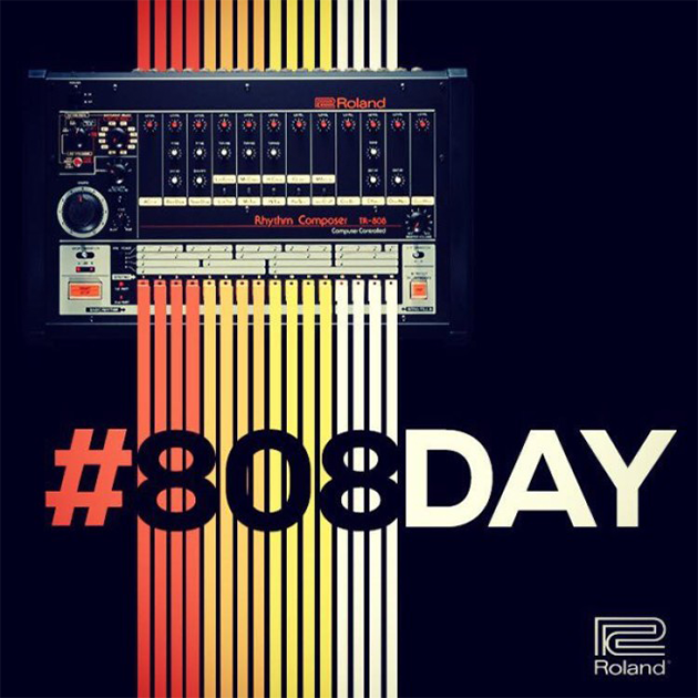 happy 808 day from roland