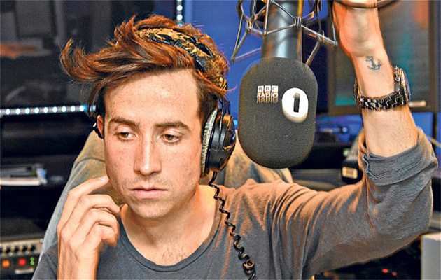 nick grimshaw on bbc radio 1