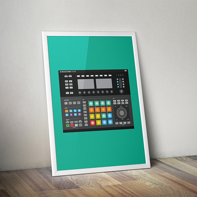 native-instruments-maschine-studio-art-print