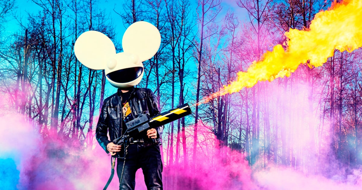 Deadmau5 has new helmet in the works
