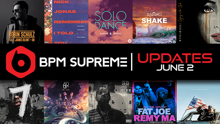 New Versions Of Popular Tracks Available – 6/2/2017