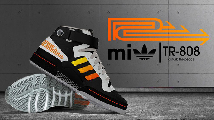 Adidas Releases Roland TR-808 Drum Machine-Inspired Shoe