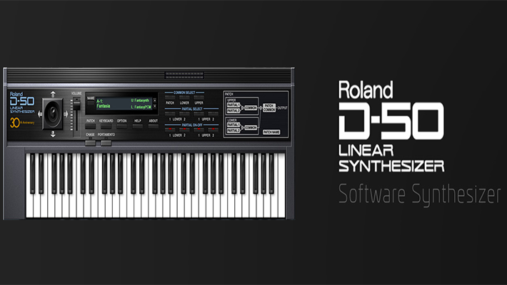 Roland Cloud Now Offering D-50 Linear Arithmetic (LA) Synthesizer