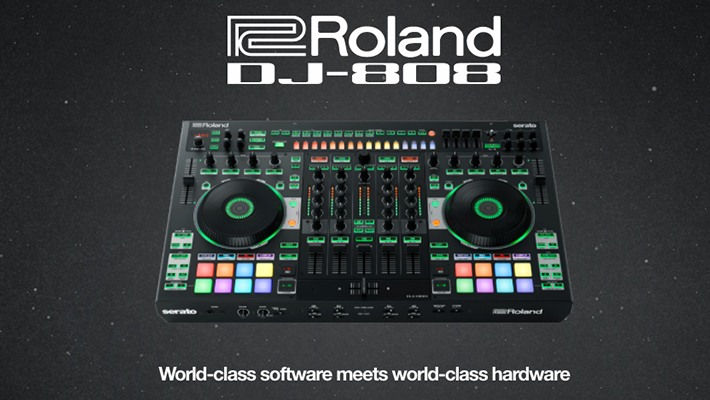 ADSR Takes a First Look at Roland's New DJ-808