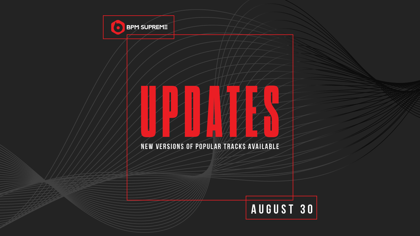 New Versions of Popular Tracks Available – 8/30/2017