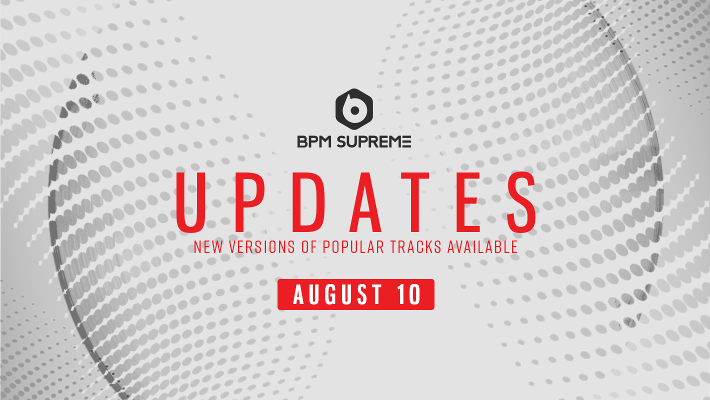 New Versions Of Popular Tracks Available – 8/10/2017
