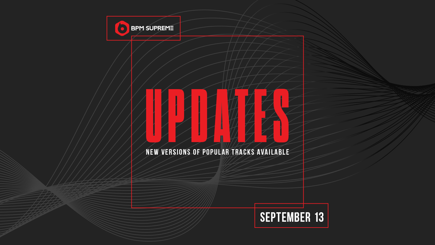 New Versions of Popular Tracks Available – 9/13/2017