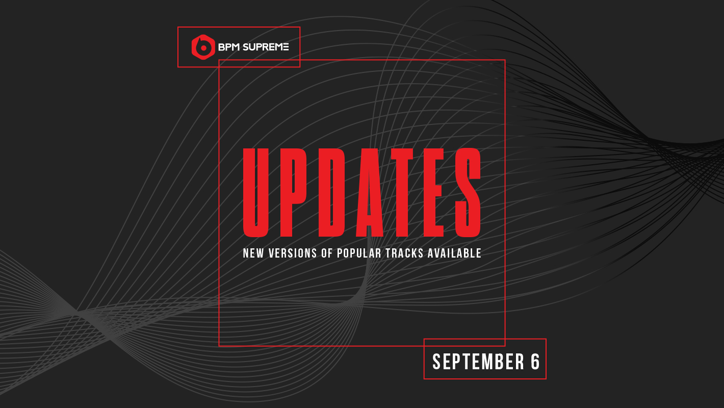 New Versions of Popular Tracks Available – 9/6/2017