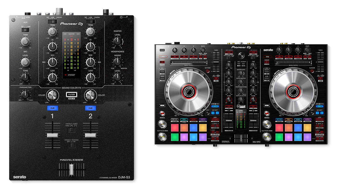 Pioneer DJ Announces DJM-S3 Mixer and DDJ-SR2 Controller for Serato DJ Users
