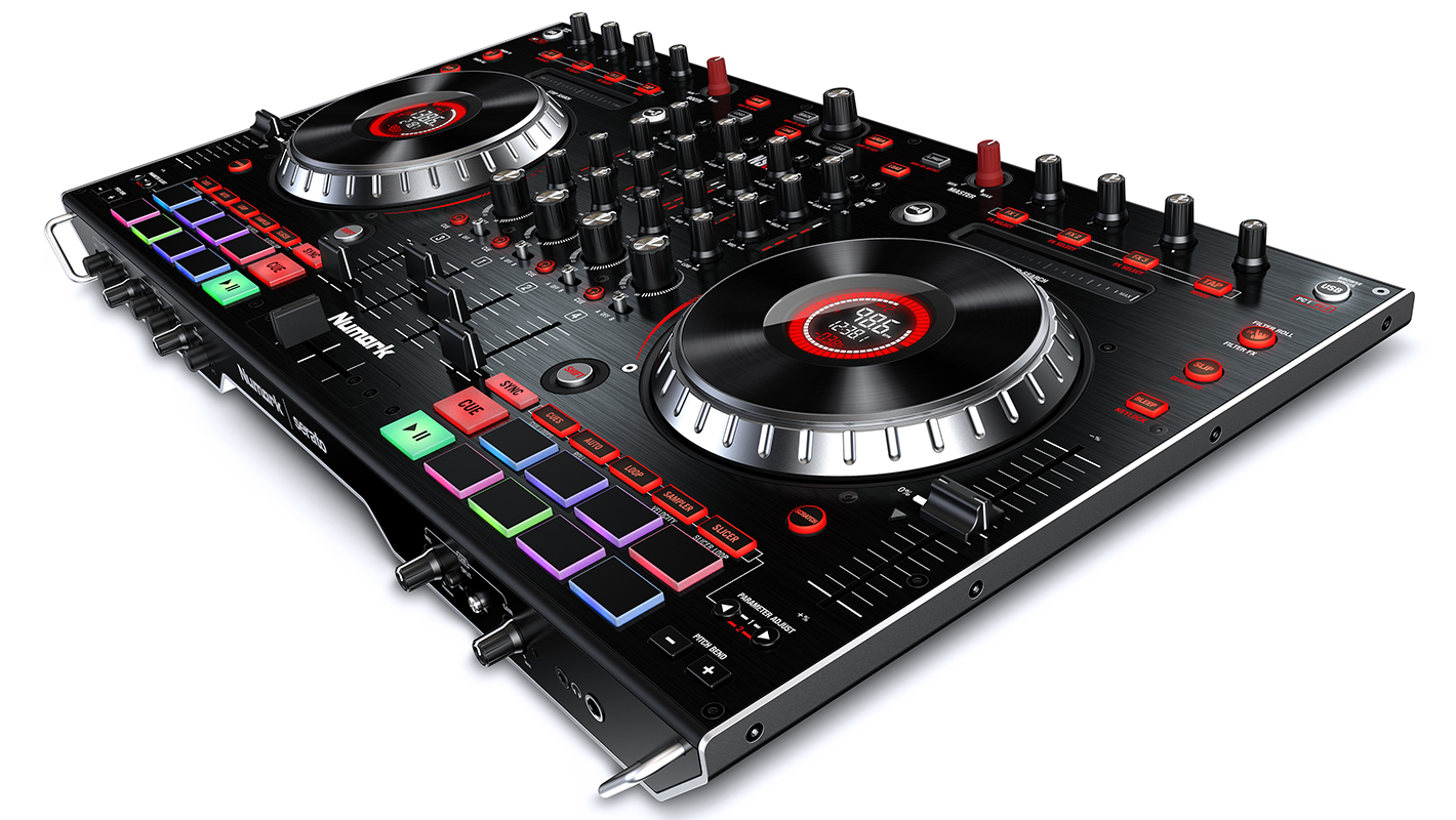 Numark's All New NS6II 4-Channel Serato-DJ Controller is Now Available