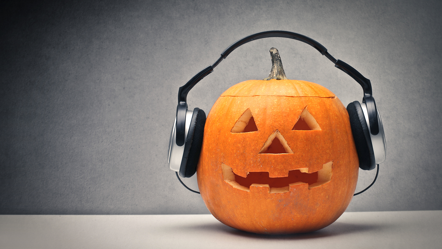 Cheap and Easy Ways to Get the DJ Booth Halloween Ready