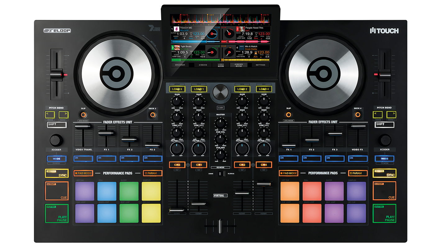 """Reloop Releases TOUCH, a 7"""" Touchscreen Controller for VirtualDJ"""