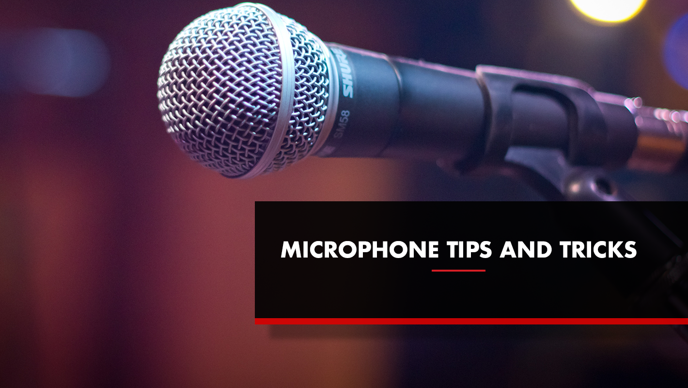 Tips and Tricks for Using a Mic at DJ Gigs