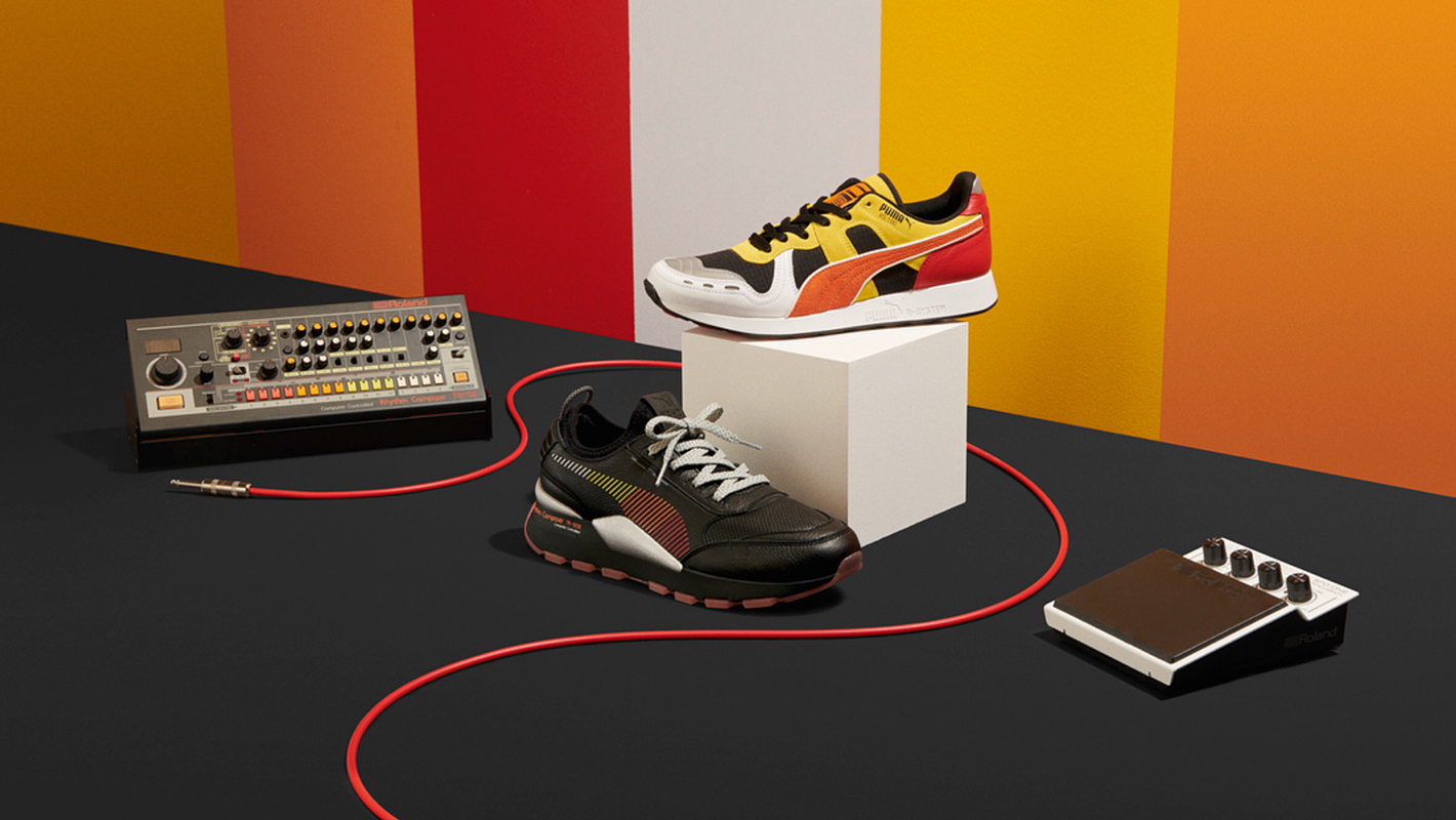 Roland and Puma Collaborate on a Second 808-Inspired Sneaker