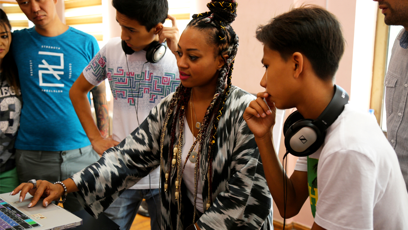 DJ Princess Cut Helps Bring Hip-Hop and DJ Culture to Central Asia