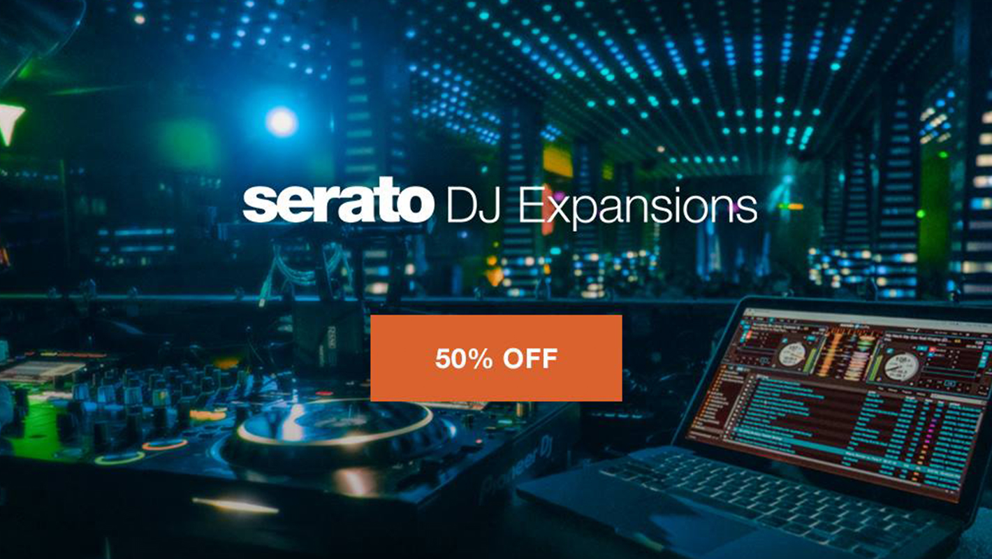 Serato DJ Expansion Packs are 50% Off Right Now