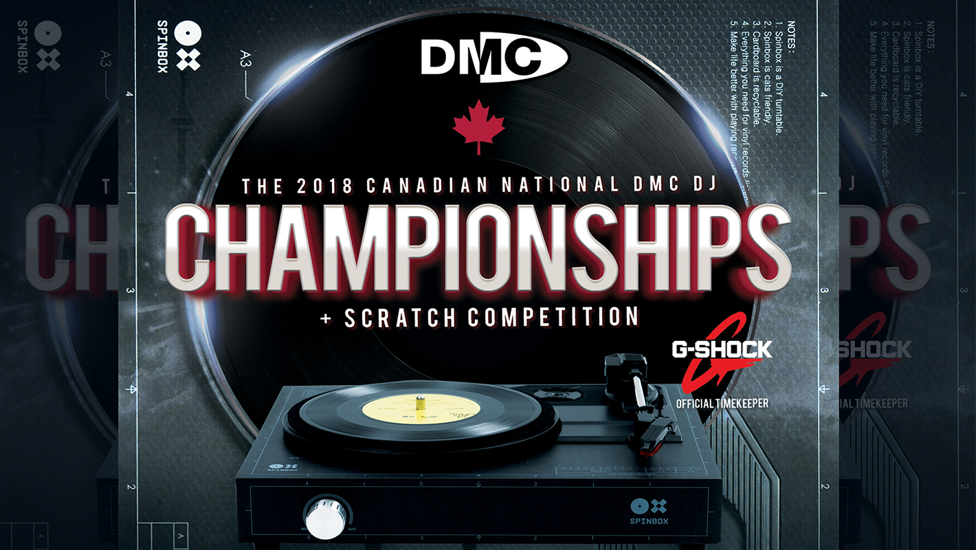 Gearing Up for the 2018 Canadian National DMC DJ Championships