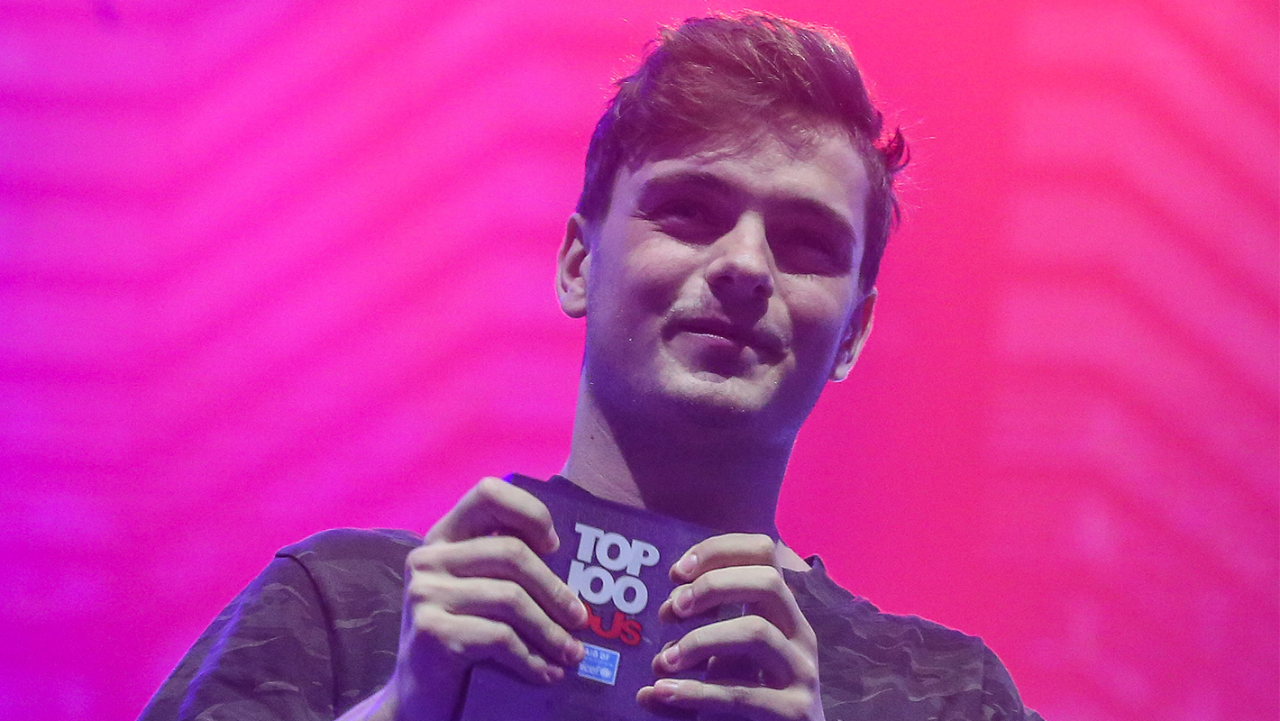 Martin Garrix Takes #1 Spot in DJ Mag's Top 100 DJs Poll for 3rd Straight Year