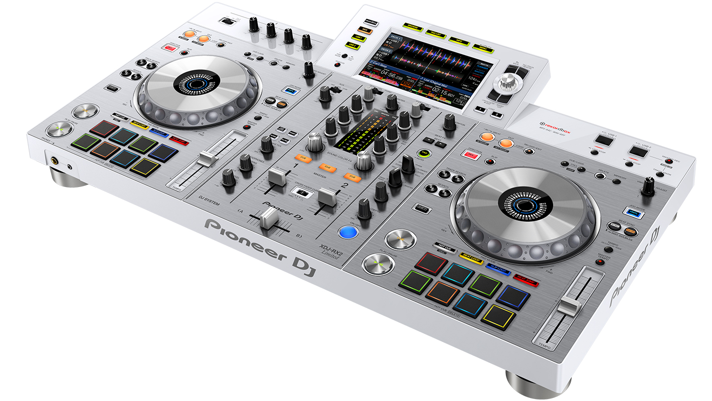 Pioneer DJ Introduces the Limited Edition White XDJ-RX2 All-In-One DJ System