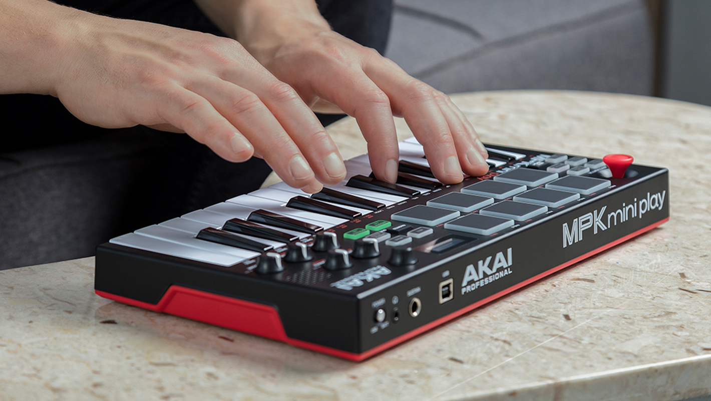 Play Anywhere with Akai's New MPK Mini Play Portable MIDI Controller