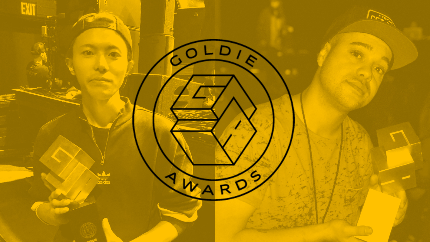 Congratulations to 2nd Annual Goldie Awards Winners, DJ Yuto and Buck Rodgers
