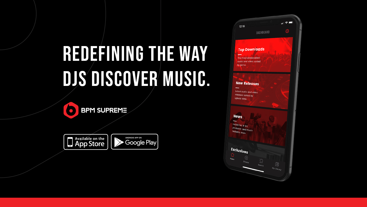 BPM Supreme's New Mobile App Redefines the Way DJs Discover
