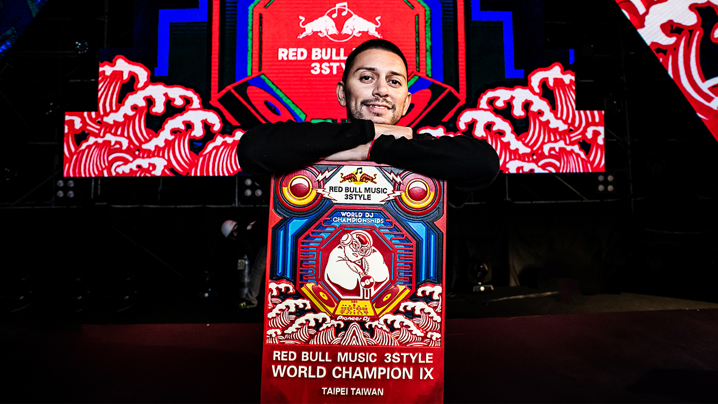Congratulations to J. Espinosa, the New Red Bull Music 3Style World Champion
