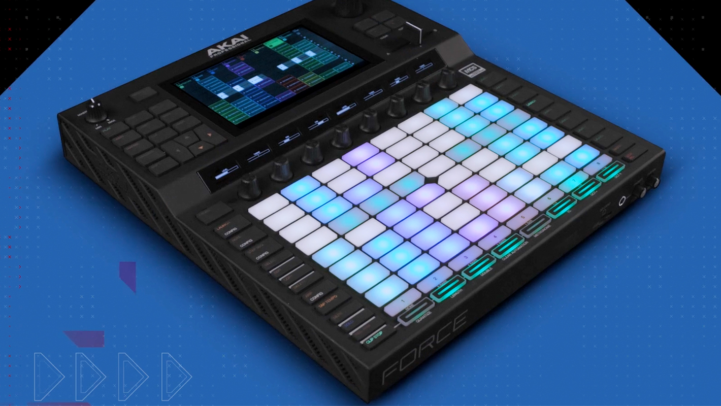 Firmware Update 3.0.1 for Akai Pro's New Standalone Production Device, Force
