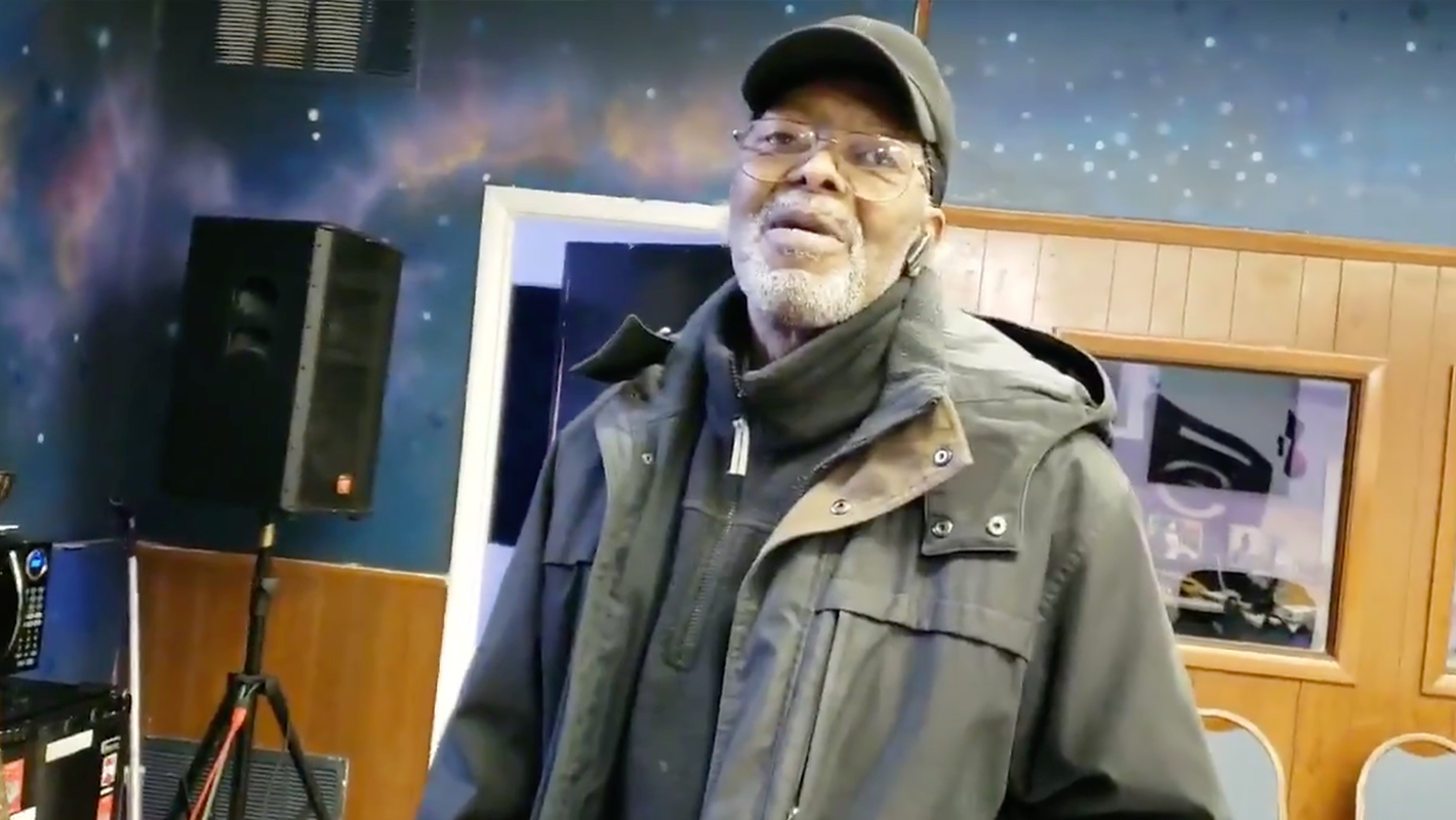 72-Year-Old Man Brings Inspiration to the Studio With His Beat-Making Skills