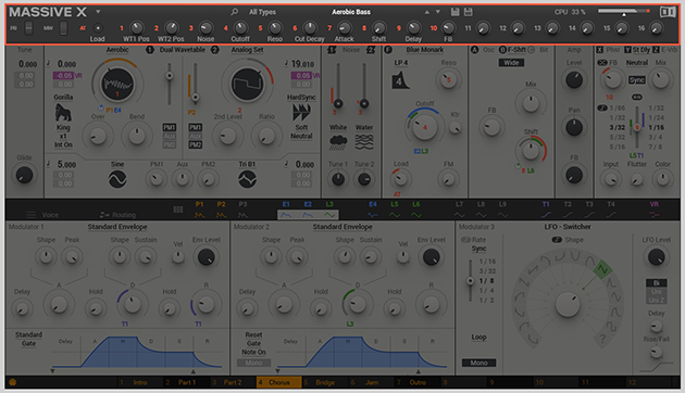 Native Instruments' MASSIVE X Synth: New Interface and Other