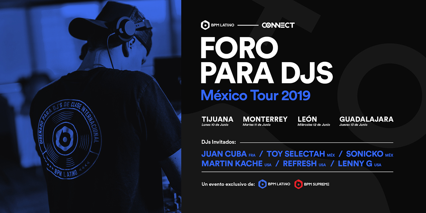 BPM Latino Hits the Road for 'CONNECT: Mexico Tour 2019'
