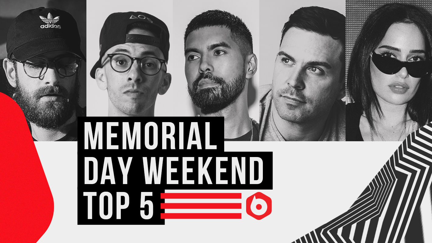 Top DJs Pick Their 5 Go-To Tracks for Memorial Day Weekend 2019