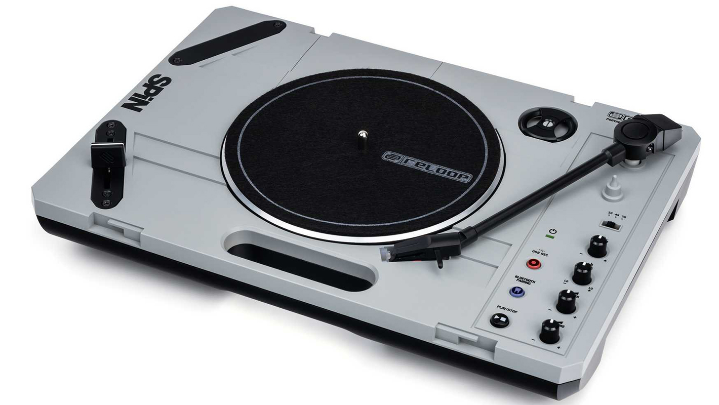 Spin Anywhere with Reloop's New 'SPIN' Portable Turntable