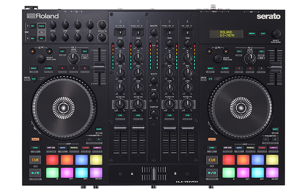 Roland's New DJ-707M Controller Is an All-in-One Solution