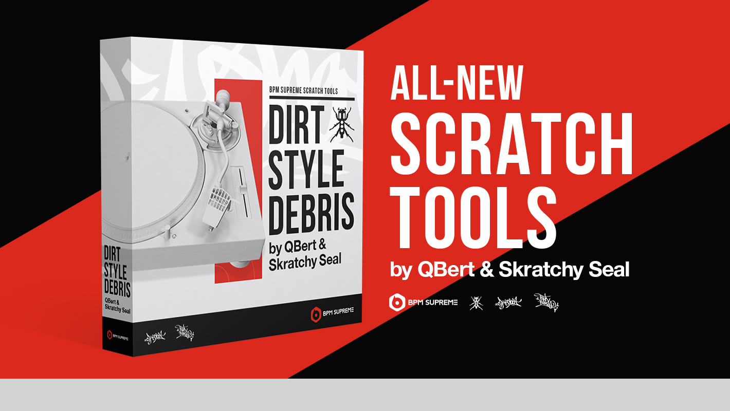 Introducing New 'Scratch Tools' Samples and Breakbeats by DJ