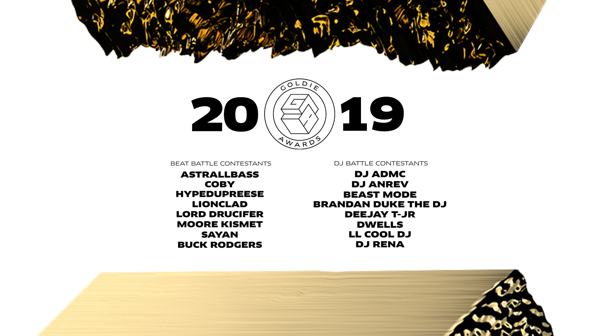 DJ Battle & Beat Battle Contestants Announced for A-Trak's 3rd Annual Goldie Awards