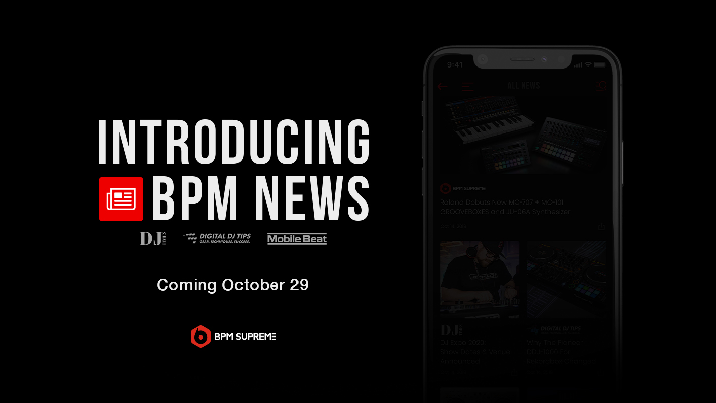 Coming Soon: BPM News is All of Your Favorite DJ News in One Place