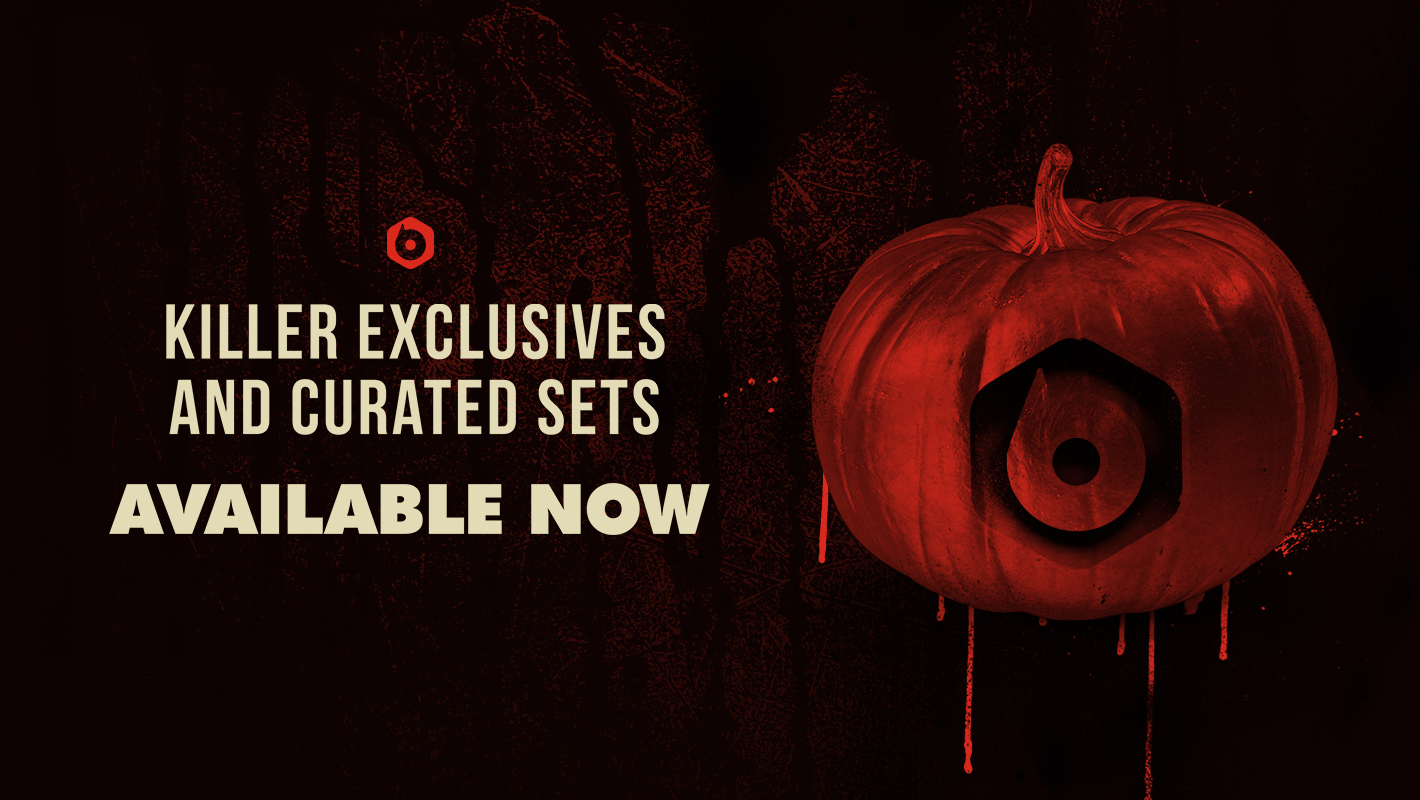 Killer Exclusives and Curated Sets for Halloween Weekend