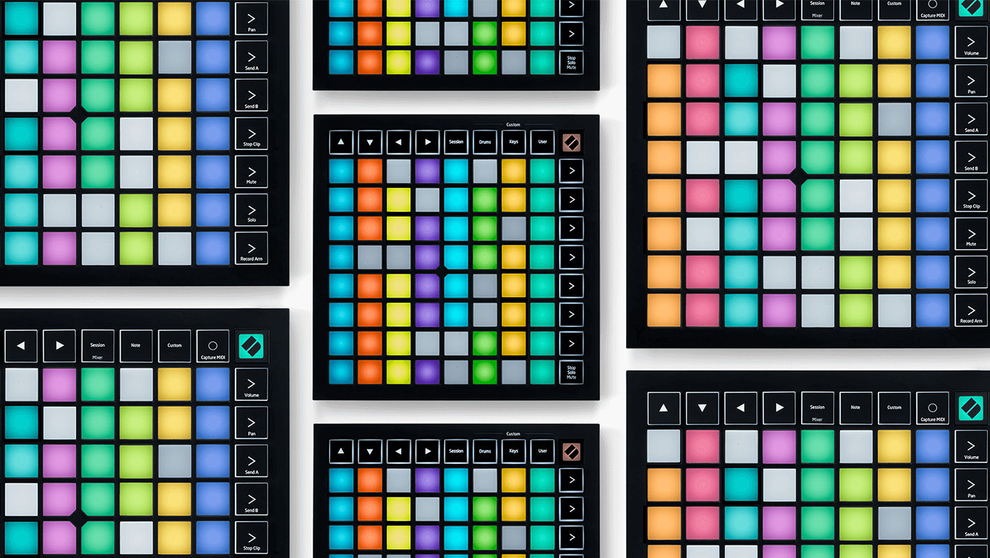 Novation's Two New Ableton Live Controllers: the Launchpad X and Launchpad Mini