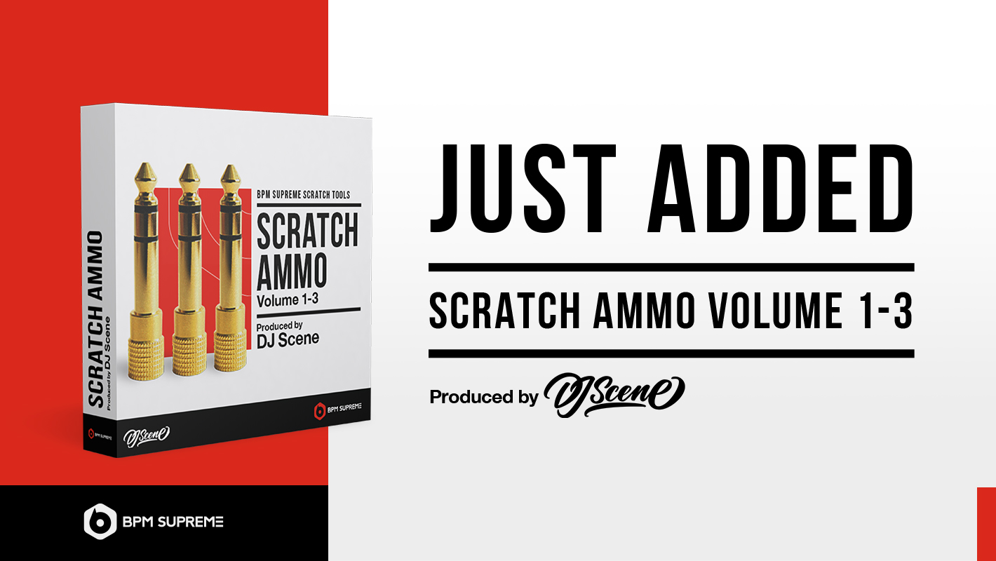 Just Added: Scratch Tools by DJ Scene Now Available on BPM Supreme
