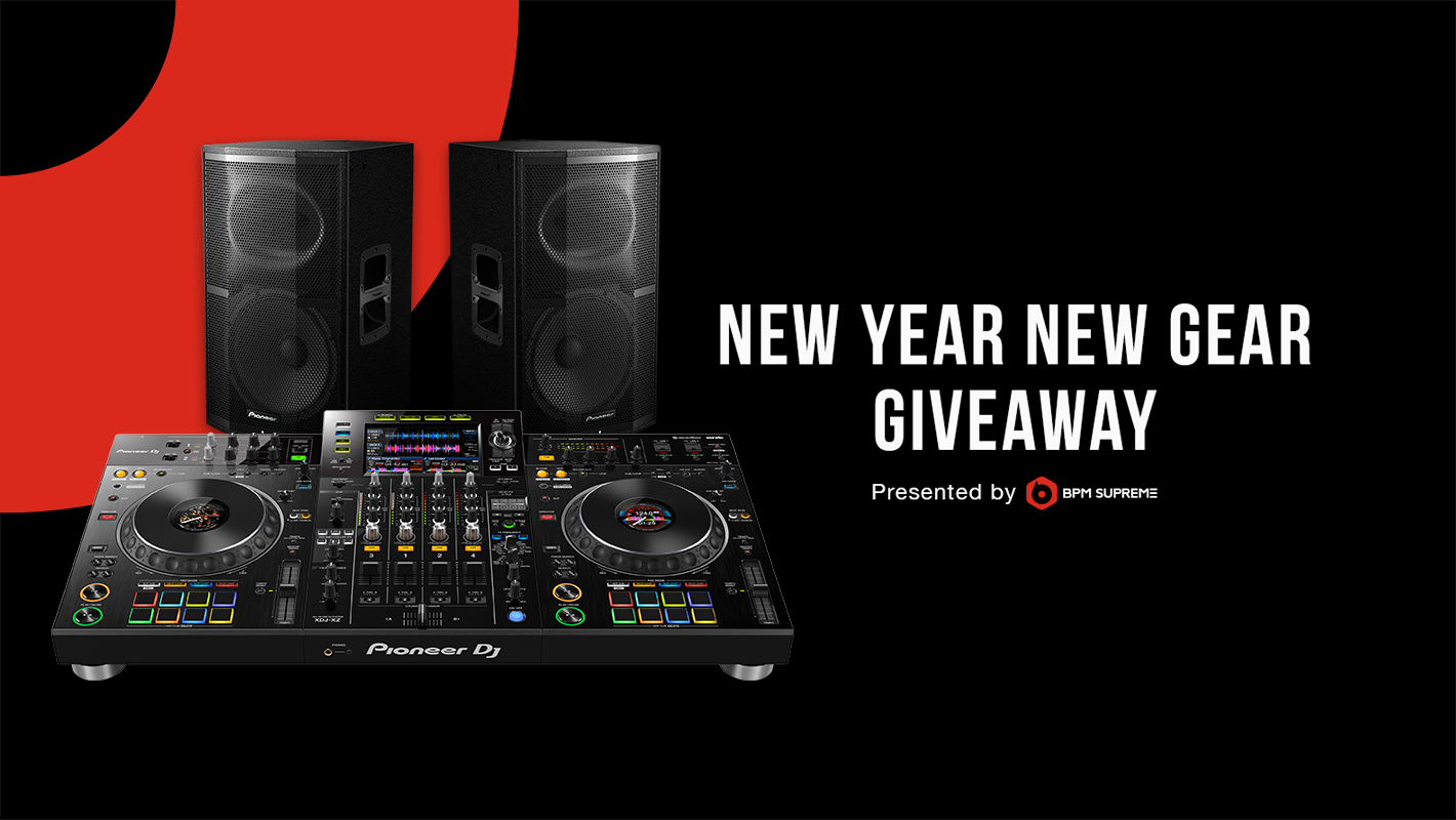 Enter the New Year New Gear Giveaway for a Chance to Win a Pioneer DJ XDJ-XZ