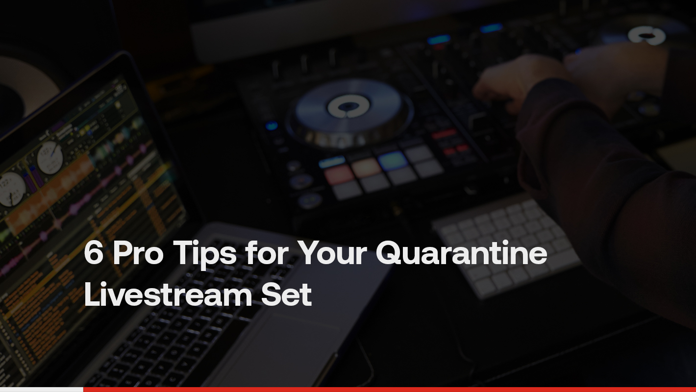 6 Pro Tips for Your Quarantine Livestream Set