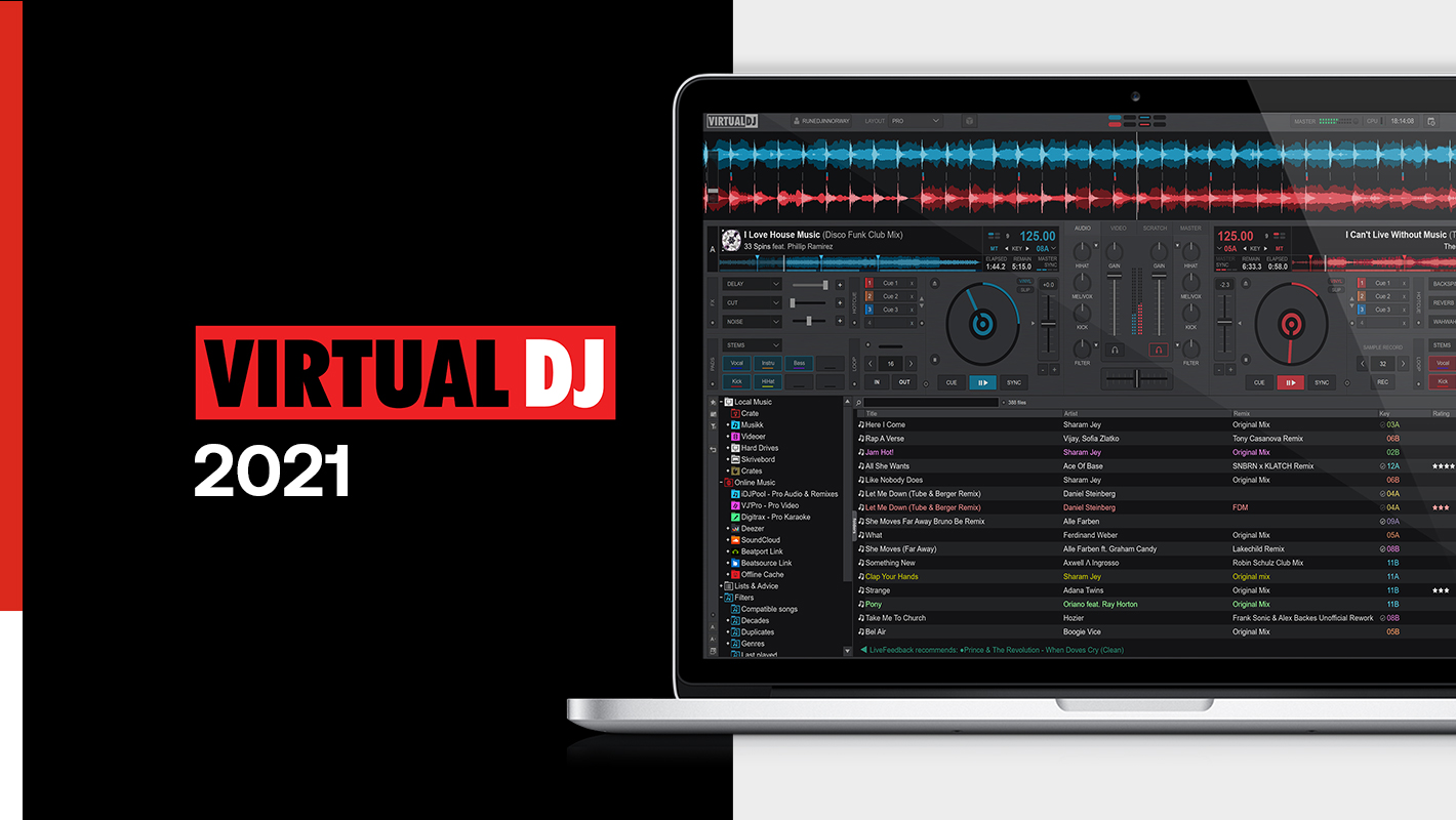 Virtual DJ 2021 Unveils Real-Time Track Separation