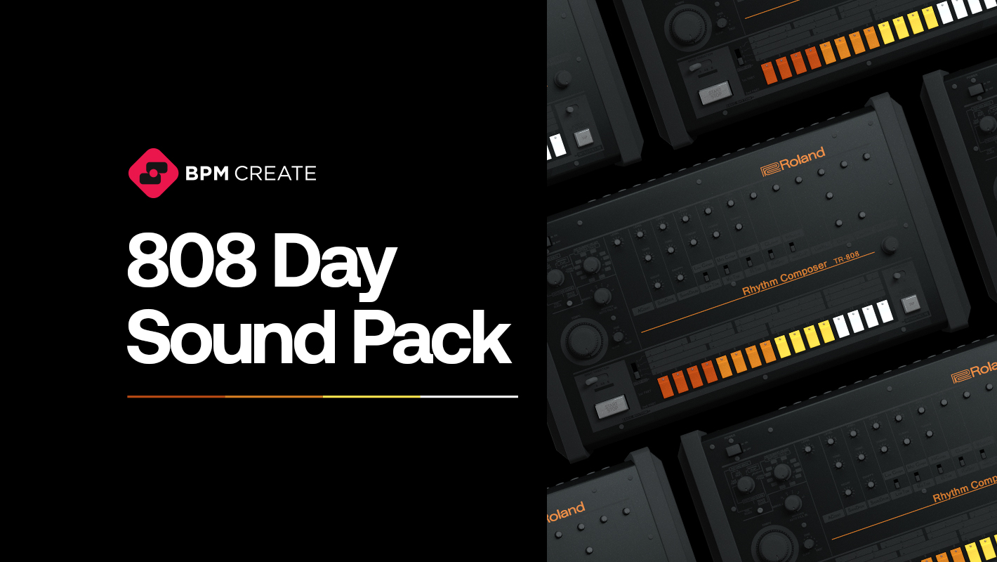 Roland's TR-808 Turns 40! Celebrate with a Free Sound Pack by BPM Create