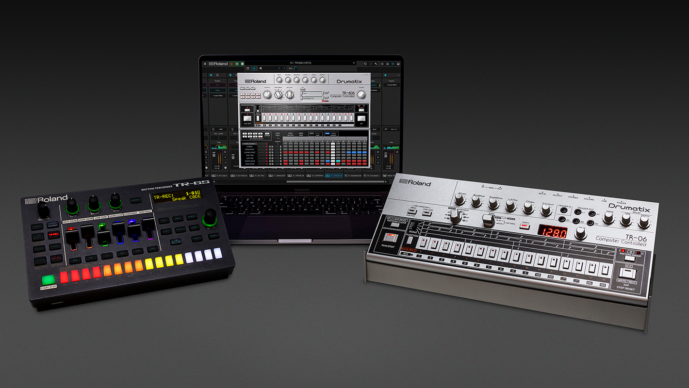 Roland Adds Three New Models to the Iconic TR Drum Machine Series