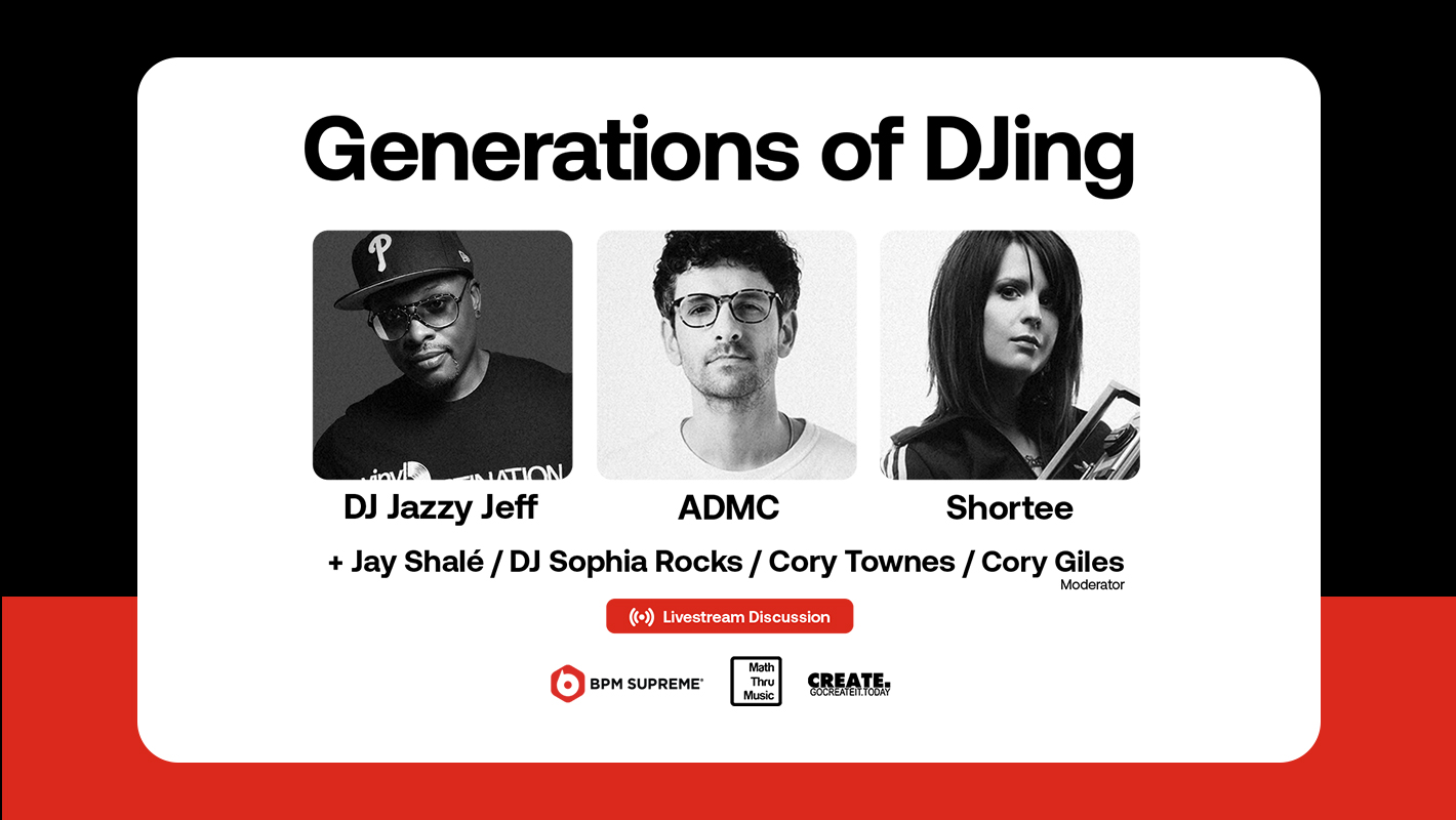 """Don't Miss the """"Generations of DJing"""" Livestream Featuring DJ Jazzy Jeff & More"""